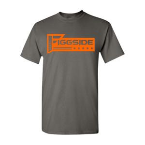 Grey Figgside Orange logo Shirt