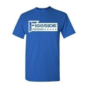 Blue Figgside White logo Front